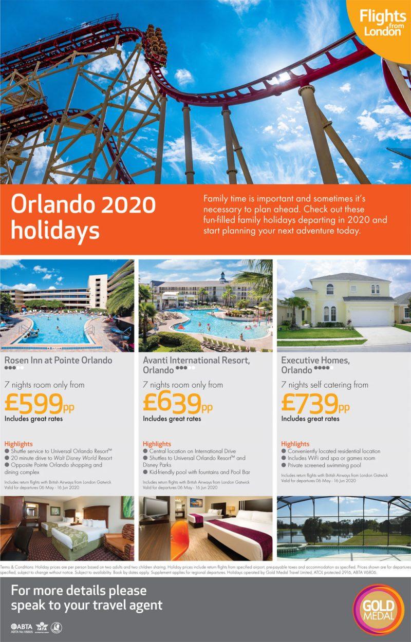 Orlando 2020 holidays